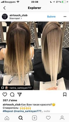 Clairol Shimmer Lights Original Shampoo Blonde and Silver 8 oz. ash blonde ombre dark roots silver soft golden beige hair highlights ash blond… - All About Hairstyles Ombré Hair, Hair Dos, Beige Hair, Ash Beige, Brown Blonde Hair, Dark Blonde Ombre, Red Ombre, Ombre Colour, Red Colour
