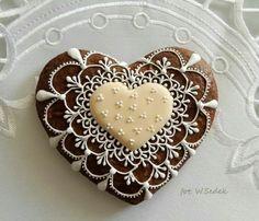 Wanda Sedek: gingerbread heart