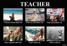 What teachers do