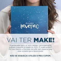 E NÃO É QUE O INVERNO CHEGOU? Aproveite os descontos e faça a sua assinatura da Glambox Brasil e garanta sua caixinha do mês de Julho!!!!  PARA  BLOGDAJEU - ASSINATURA MENSAL / R$ 42,00 POR MÊS  SEMESTRALBLOGDAJEU - ASSINATURA SEMESTRAL / R$ 61,33 POR MÊS  ANUALBLOGDAJEU - ASSINATURA ANUAL / R$ 57,00 POR MÊS