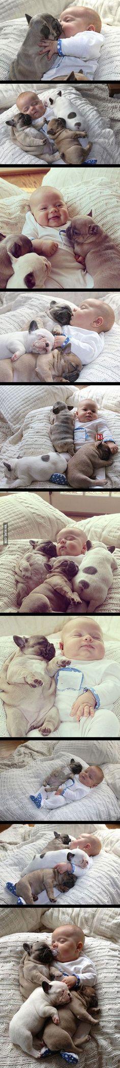 los quiero a toooooodos!! si si incluyendo al bebe!! awwwww