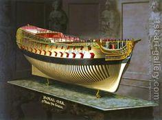 HMS Royal Oak 1773-75 by Joseph Marshall