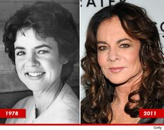 Stockard Channing: she looks very good, but I would like to see her hair natural without to coloring... I think it ages a person to color their hair, just draws attention to the wrinkles and such... in any case, I love her and I always loved her unique looks