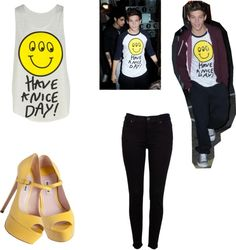 """""""matching couple outfit with Louis"""" by carysstyles ❤ liked on Polyvore"""