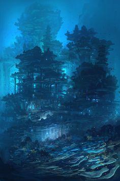 Feng Zhu Design: underwater city                                                                                                                                                                                 More