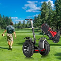 Sonderpreis Segway Golf Roller mit Doppel Batteriesystem 4000w inkl. Golftaschen und Vorrichtung. Jetzt zum besten Preis bei Hoverboard-time. Lieferung mit UPS