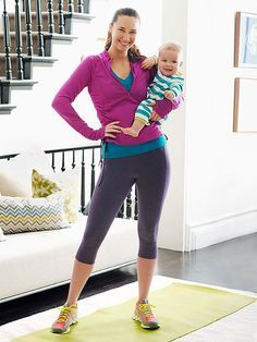 3 exercises that will help build your strength after a C-section. I'm pretty sure these will help after any lower abdominal surgery.