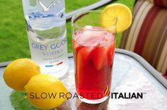 #Drink #Recipe / Raspberry Lemon Breeze