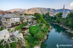 Mostar with Neretva river The new Old Bridge in Mostar, Bosnia and Herzegovina – Andrey Andreev Travel and Photography