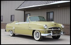 1954 Plymouth Belvedere Convertible Mine had a Continental Kit
