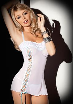 a5f36c475c81e 2016 New Women Hot Sexy Lingerie Ladies White Lace Perspective Harnesses  Exotic Dresses Apparel+ G String Underwear
