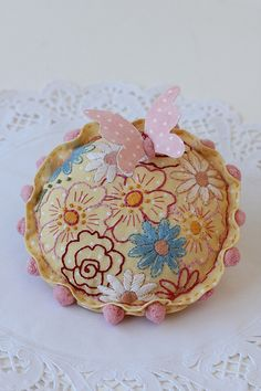 Red Brolly free pincushion project