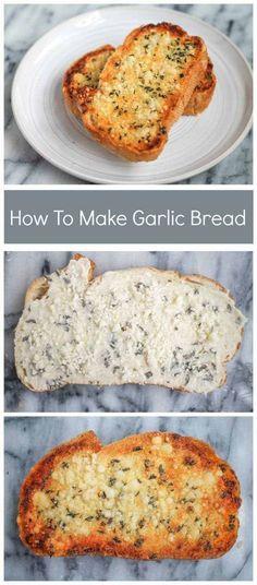 The easiest garlic bread recipe!