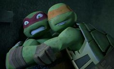 Easy Raph, don't attack him.