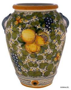 Large Decorative Urns With Lids Best Pinbetty Ray On Italian Pottery  Pinterest  Italian Pottery Inspiration Design