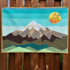 This Au Naturel Elevated Abstractions Quilt has definitely been one of my favorite makes to date. Head over to… Quilting Projects, Quilting Designs, Art Quilting, Quilt Art, Landscape Art Quilts, Landscapes, Foundation Paper Piecing, Paper Piecing Patterns, Art Gallery Fabrics