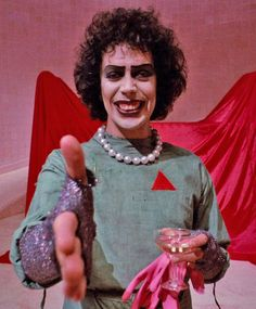 """Tim Curry - """"The Rocky Horror Picture Show""""."""