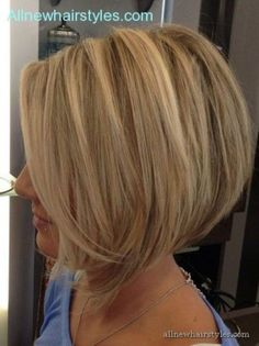 long stacked bob haircut picturesProper Hair for Casual Event