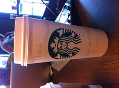 Larry says thank you to Starbucks for supporting marriage equality in Washington! Join us at http://www.StandWithStarbucks.com