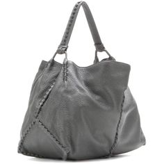 574d45333ddb8 Bottega Veneta Hobo Bag - Gray ❤ liked on Polyvore featuring bags