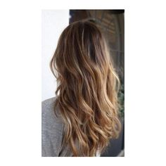 40 Gorgeous and Popular Brunette Hairstyles Style Estate ❤ liked on Polyvore featuring beauty products, haircare, hair styling tools and hair
