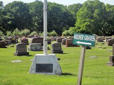 The cemetary where Laura Ingalls Wilder and her family are buried.  Mansfield, MO.