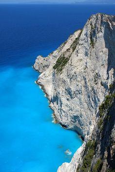 Cliffs - Zakynthos, Greece