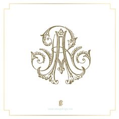 Couture Monograms | Emily McCarthy Weddings