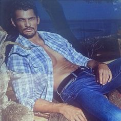 @DjGDavidGandy: David Gandy for @Aaron Lucky 'A State Of Mind' in store ad campaign. *