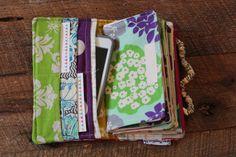Miss Money Bags 6 Cash Envelope Wallet Aloha by missmoneybagsstore