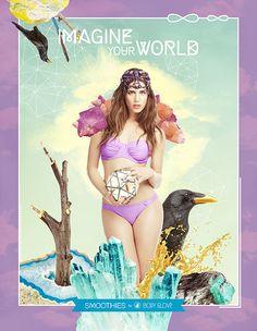 Imagine Your World | BODY GLOVE by BECHA , via Behance