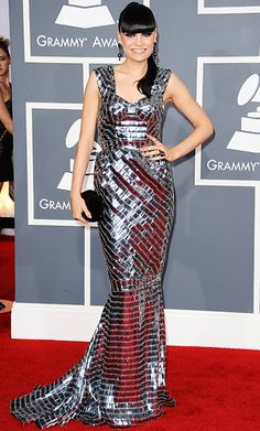 i freaking LOVE this dress. perfect for the grammys.