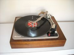 Vintage Garrard AT6 Automatic Turntable 4 Speed by ZeeJunkHunter