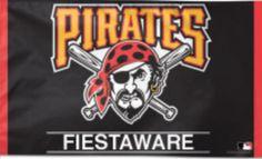 Pittsburgh Pirates fiestaware banner