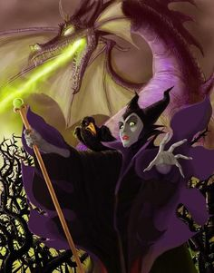 Day 14: Favorite Villain. Who doesn't love Mailificent??!!
