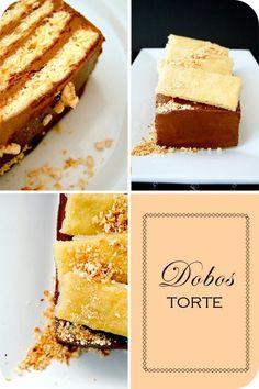 Austro-Hungarian Desserts: Dobos Torte