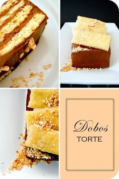 Dobos torte | Food@Cakes n Cheesecakes | Pinterest | Torte, Layer ...