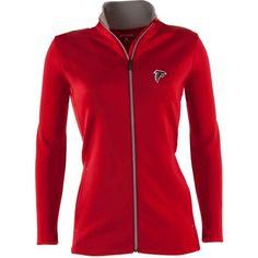 Antigua Women's Atlanta Leader Red Full-Zip Jacket, Size: Medium, Team