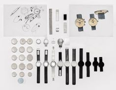 Yves Béhar Designs New Watch Collection for Movado - Design Milk Design Thinking Process, Design Process, Museum Displays, Portfolio Layout, Form, Layout Design, Cool Designs, Jewelry Design, Design Inspiration