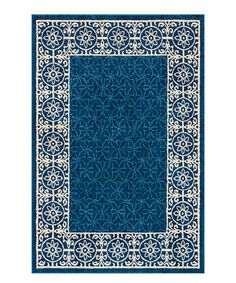 This Blue Mystic Modern Area Rug is perfect! #zulilyfinds