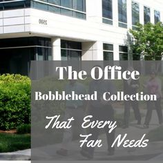 This Office Bobblehead Collection is a must-have for any fan of The Office! These bobbleheads feature most of the main cast of The Office tv show and are in high demand!