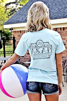 As Southern As Possible Lauren James pocket t-shirt. (100% Cotton)