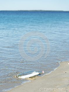 Message In A Bottle On A Deserted Beach - Download From Over 26 Million High Quality Stock Photos, Images, Vectors. Sign up for FREE today. Image: 25667258
