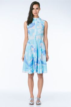 Ksenia Schnaider Pastel Camo Dress, $340, available at Anthom.