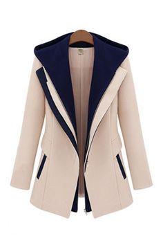 Hoodie Long Sleeves Coat Outerwear