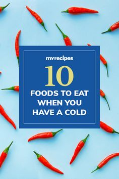Discover the best foods to help fight cold symptoms, from stuffy noses to sore throats. Healthy Cooking, Healthy Recipes, Drink Recipes, Cold Symptoms, Most Popular Recipes, Cold Meals, Sore Throat, Foods To Eat, Winter Food