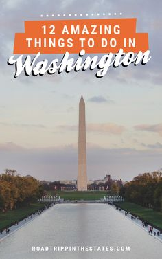 12 amazing things to do in Washington DC! Click through for our city guide on Road Trippin' The States