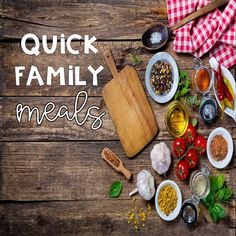 Quick Family Meals F