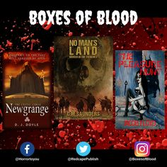 Hand-picked horror, delivered to your door. Featuring the best independent and small-press horror writers working today. Horror Books, Writers, Blood, Boxes, Crates, Box, Authors, Cases, Boxing