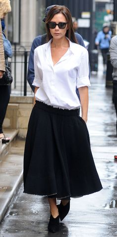 Victoria Beckham's Most Stylish Looks Ever - September 29, 2014  - from InStyle.com